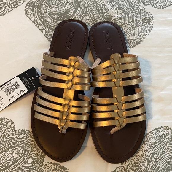 Roxy Tia Bronze Sandals